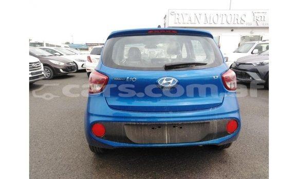Buy Import Hyundai i10 Blue Car in Import - Dubai in Badakhshan